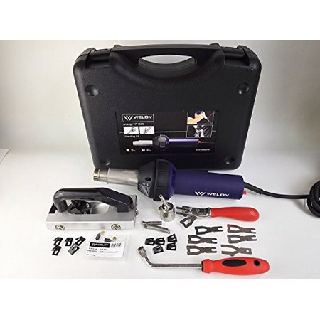 120v 1600w Handheld Hot Air Plastic Welder Gun Pvc Welding