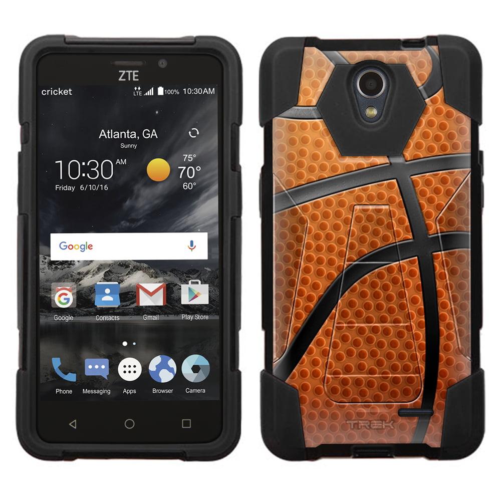 ZTE Sonata 3 Hybrid Stand Case - Basketball Close Up