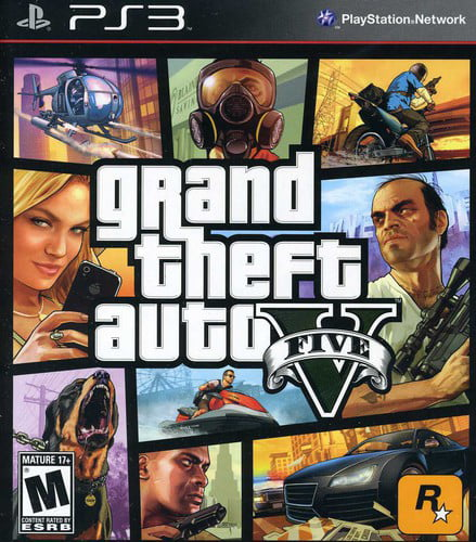 Grand Theft Auto V, Rockstar Games, PlayStation 3, 710425471254 by TAKE 2 INTERACTIVE