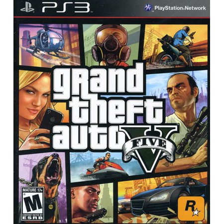 Grand Theft Auto V, Rockstar Games, PlayStation 3, (Best Zombie Games For Ps3)
