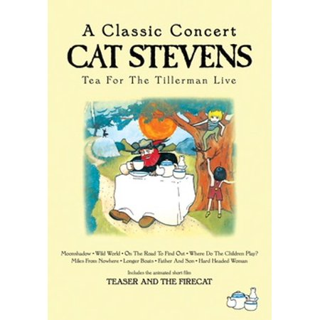 Cat Stevens: Tea For The Tillerman Live (DVD) - Cat Stevens Halloween
