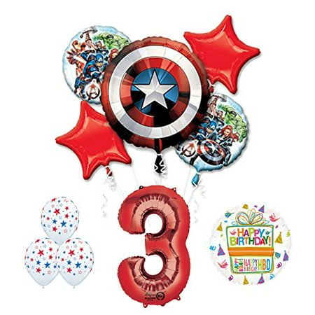 The Ultimate Avengers Super Hero 3rd Birthday Party Supplies - Super Hero Supplies
