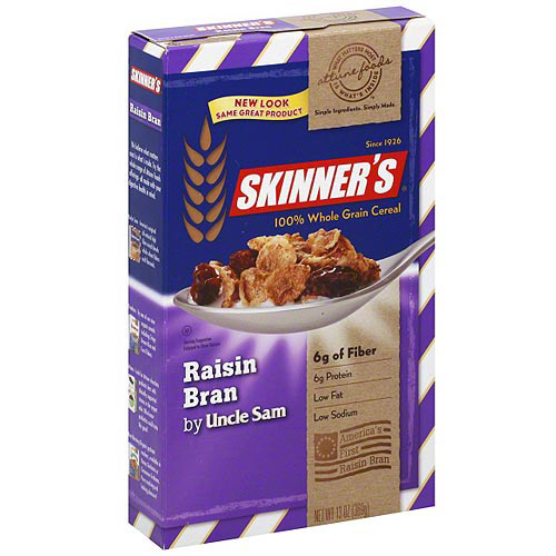 Skinner's Raisin Bran Cereal, 13 oz (Pack of 12)