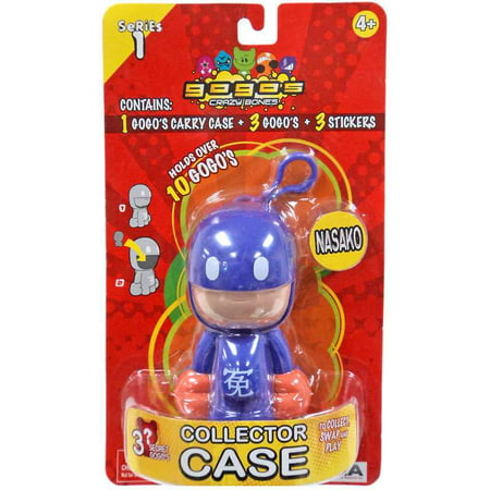 Crazy Bones Gogo's Series 1 Nasako Collector Case [Random Color] ()