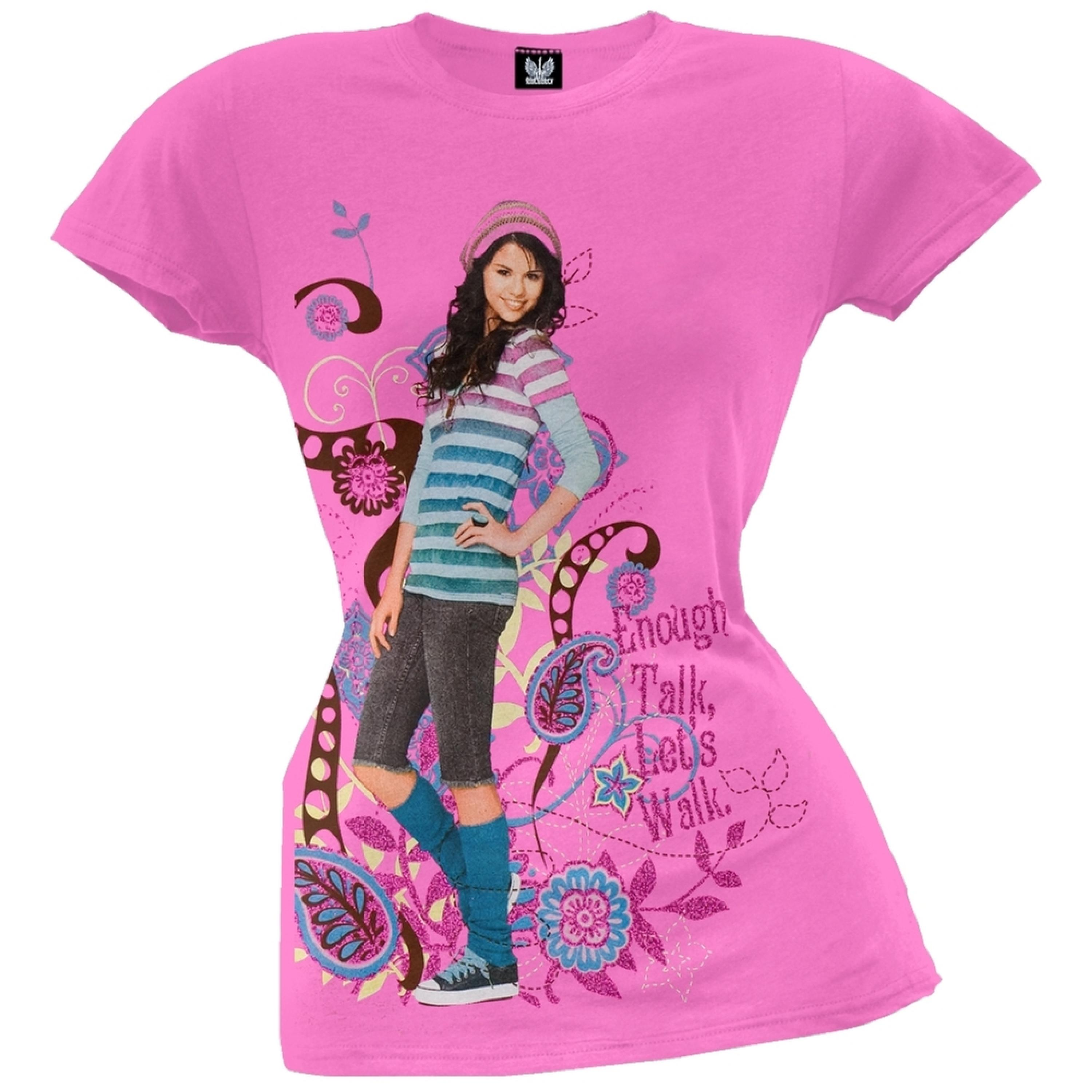 Wizards Of Waverly Place - Enough Talk Girls Youth T-Shirt