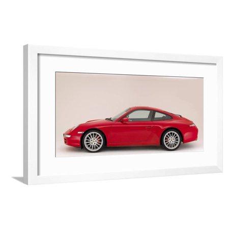2004 Porsche 911 Carrera 2 S Framed Print Wall Art