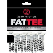 """NEW Zero Friction FATTEE Golf Tees 3?"""" Wood/Bamboo 50 pack 3.25"""" Choose Quantity"""