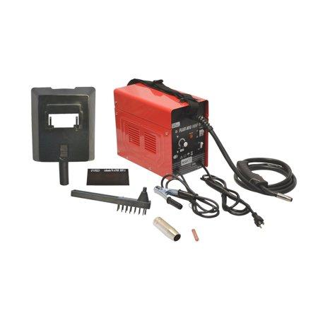 Mig 105 Flux Core Wire Mig Welding Machine 90AMP No Gas Welder Cooling (Best Gas Mix For Mig Welding)