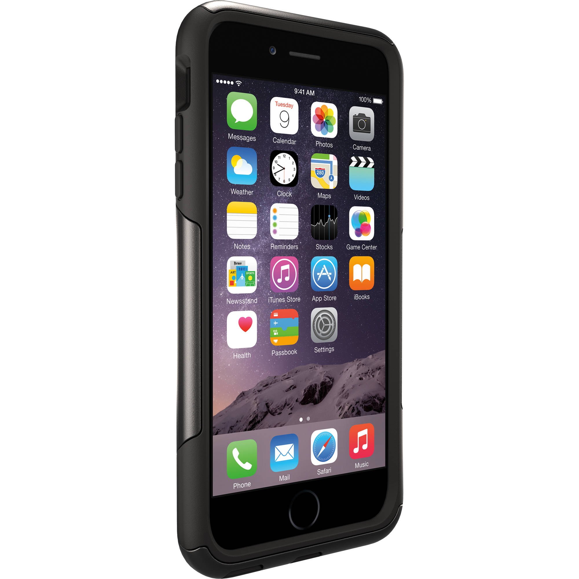 iPhone 6 plus Otterbox commuter case, black