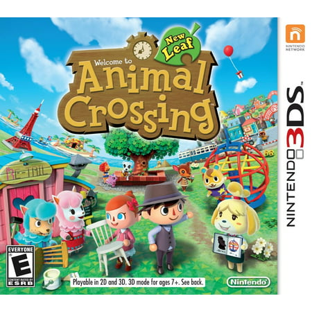 Animal Crossing: New Leaf (Nintendo 3DS) -