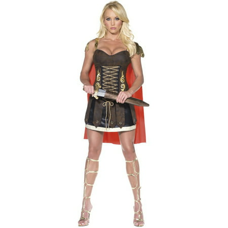Womens  Fever Female Roman Gladiator Warrior Costume