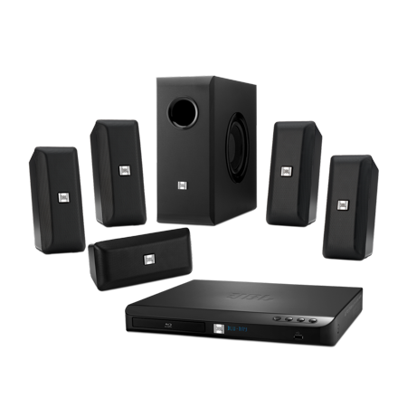 Jbl Cinema Bd 100 Complete 5 1 Channel 3D Blu Ray Disc Integrated Home Theater System