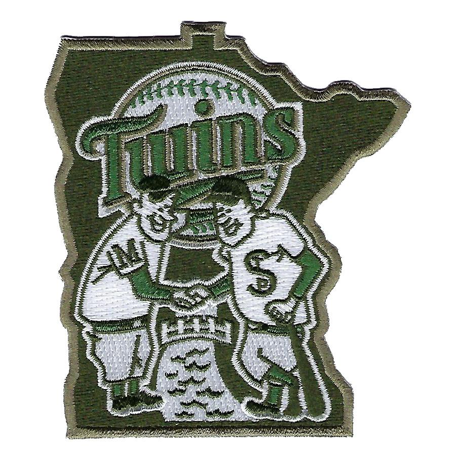 Minnesota Twins 2018 Memorial Day USMC Logo Patch - No Size