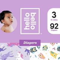 Hello Bello Diapers Club Box (Choose Size & Pattern)