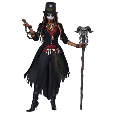 Voodoo Magic Women's Adult Costume (Men's Voodoo Costume)