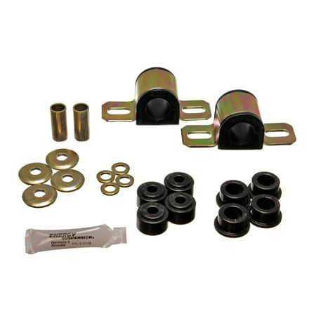 Energy Suspension 84-01 Jeep Cherokee Black Frt 25mm Sway Bar Bushing Set w/End Link Bushings