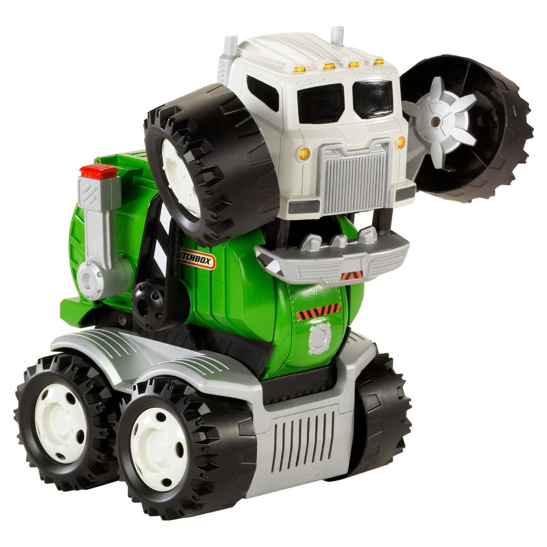 Matchbox Stinky Interactive Toy Garbage Truck Vehicle by Mattel