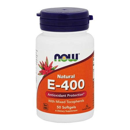 NOW Foods - Vitamine E mixtes