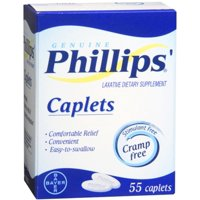 Phillips' Caplets 55 Caplets (Pack of 6)