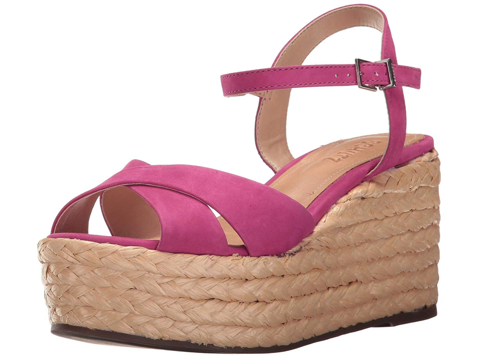 bf13ae96f76 Schutz Womens Keisi Leather Open Toe Casual Platform Sandals