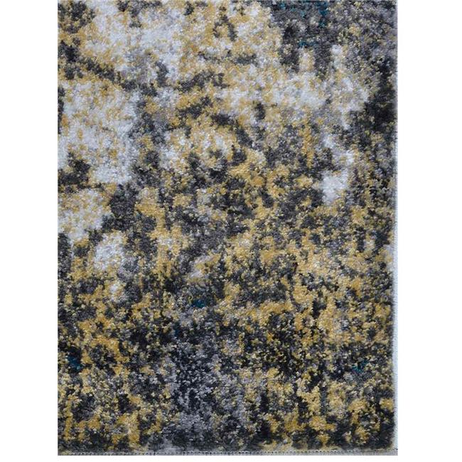 Get My Rugs MX0011M3203A9 5 x 8 ft. Machine Woven Polypropylene Area Rug, Turkish Floral - Silver Blue - image 1 de 1