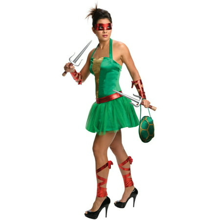 Womens Teenage Mutant Ninja Turtles Raphael Dress Costume (Ninja Turtle Dress Up)
