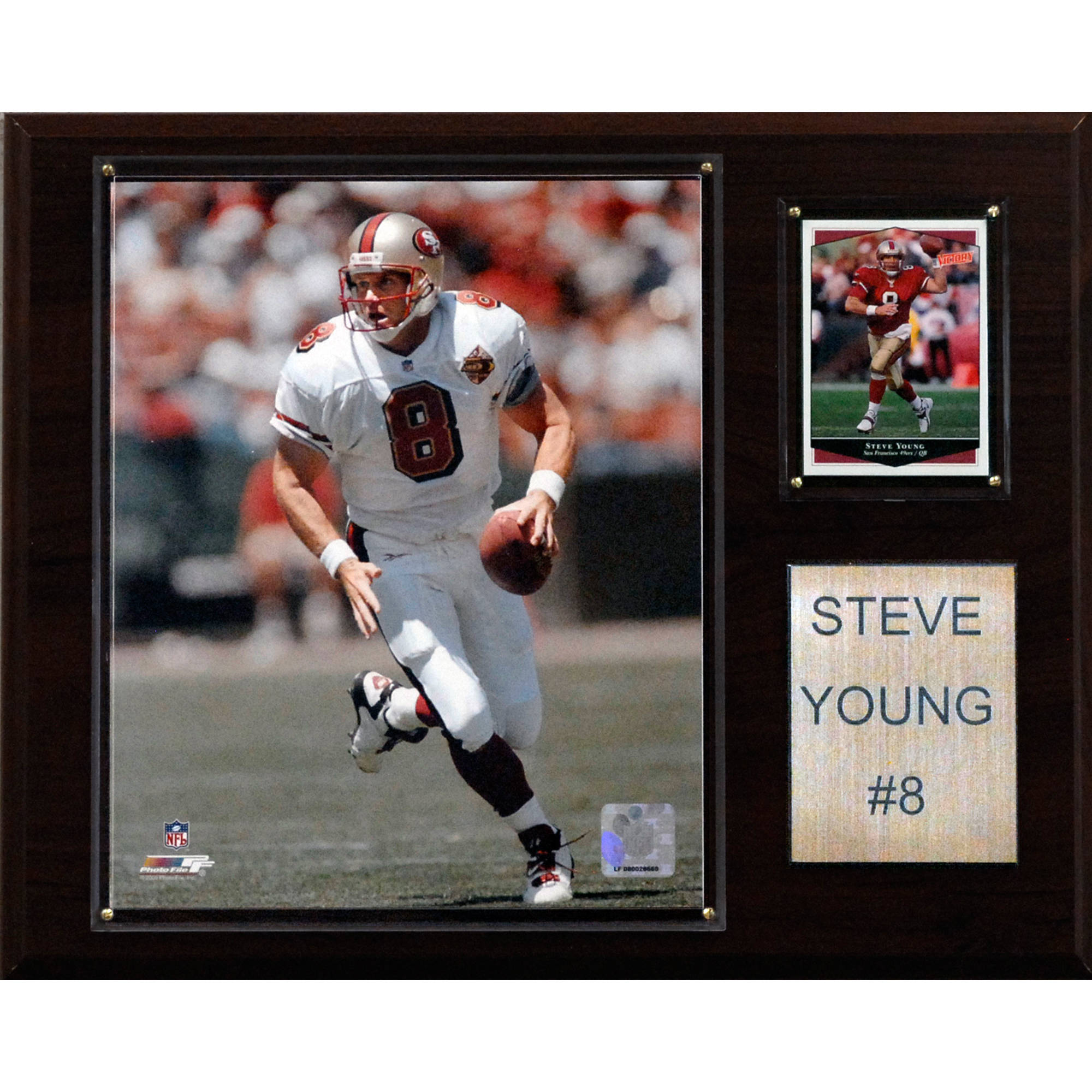 C&I Collectables NFL 12x15 Steve Young San Francisco 49ers Player Plaque