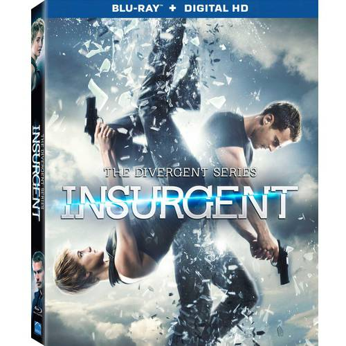 The Divergent Series: Insurgent (Blu-ray   Digital HD) (With INSTAWATCH) (Widescreen)