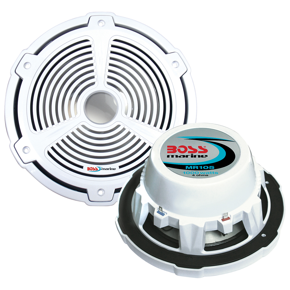 "Boss Audio 39316M BOSS AUDIO MR105 10"" MARINE SUBWOOFER"