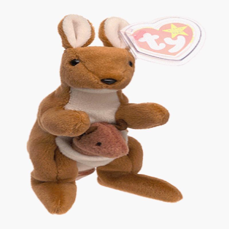 Ty Beanie Baby Pouch The Kangaroo Toy Walmart Com