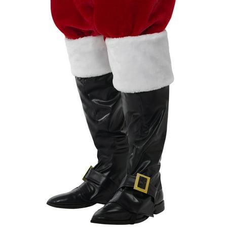 Deluxe Santa Boot Covers](Santa Boots Decorations)