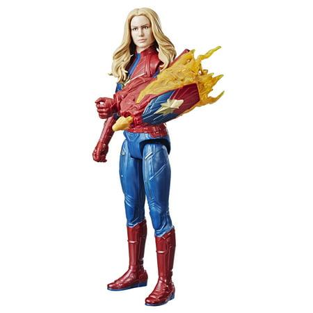 Marvel Avengers: Endgame Titan Hero Power FX Captain Marvel - Captain Feathersword