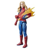 Marvel Avengers: Endgame Titan Hero Power FX Captain Marvel Figure