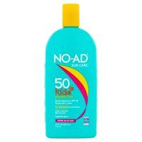 NO-AD Paraben-Free Kids Sunscreen SPF 50, 16 Fl Oz