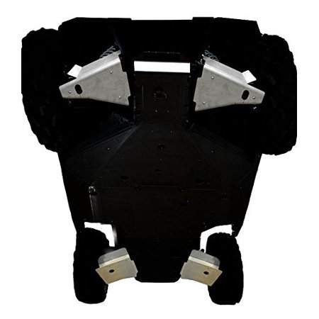 (Polaris, RZR-S 1000, RZR-S 900,RZR-4 900, 4 piece Aluminum A-Arm & CV Boot Guard Set by Ricochet For 2016, 2017 Models - SPA798A)