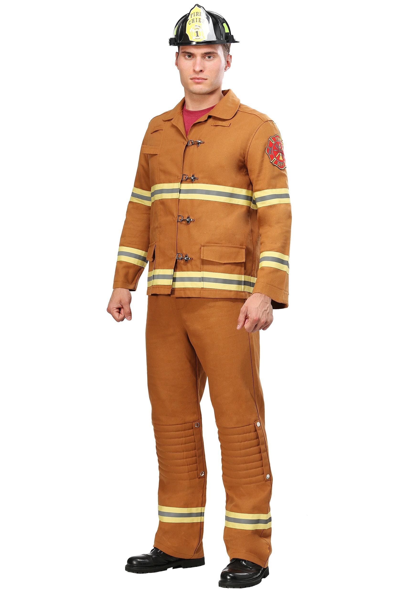 NEW Girls Fire Chief Small 4-6 Firefighter Glitter Costume