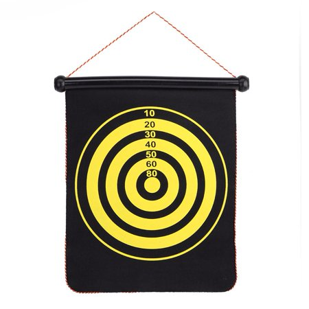 Spptty Double Sided Dartboard,Magnetic Dartboard,15inch Magnetic Double Sided Dart Board Wall Hanging Dartboard with 6 Safety Darts - image 3 of 8