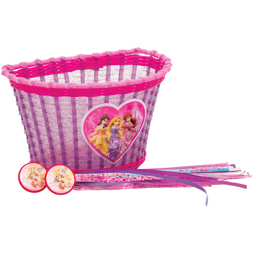 Bell Disney Princess Basket and Streamers Accessory Pack, Pink
