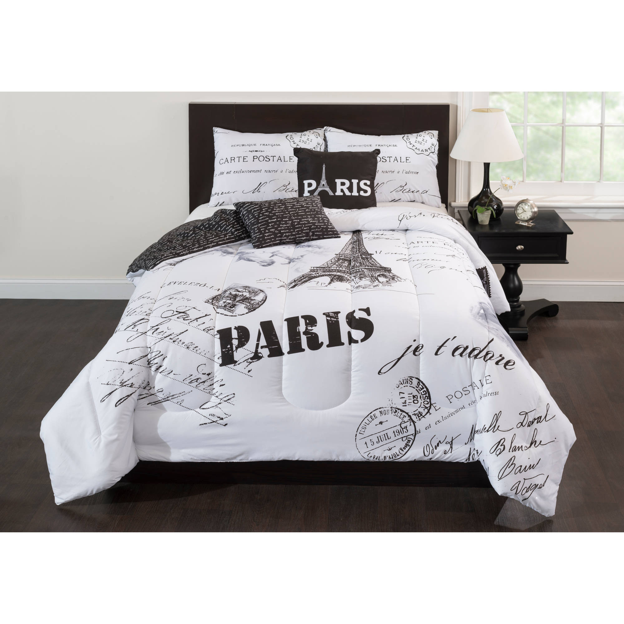 Casa Paris J'Adore 5-Piece Bedding Comforter Set