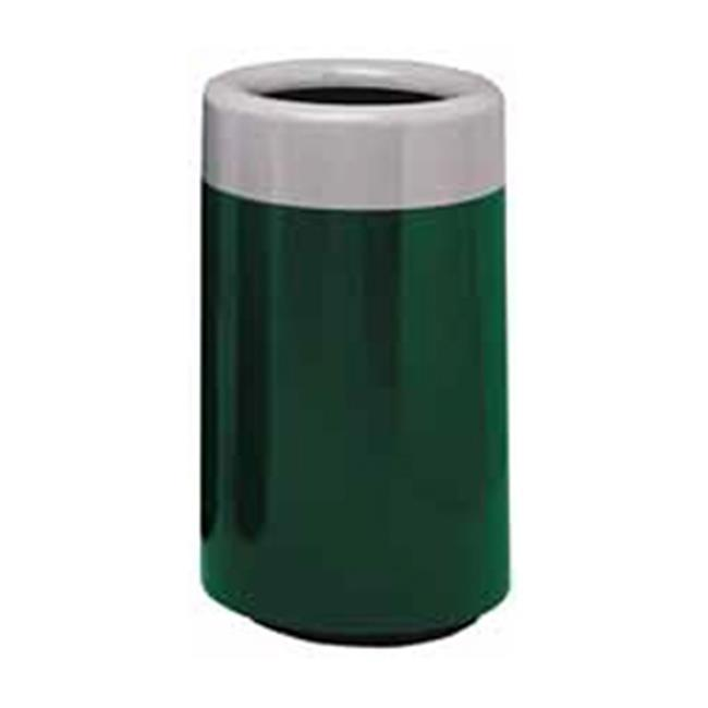 Witt Industries 7C-2034TSP Fiberglass Receptacle With Plastic Liner - Hunter Green & Slate - image 1 of 1
