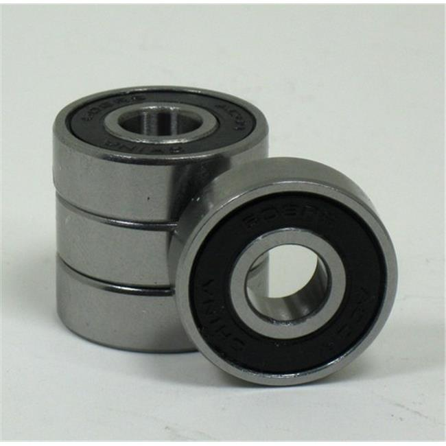 new solutions b10p 0.31 x 22 mm precision wheelchair bearings, pack of 4