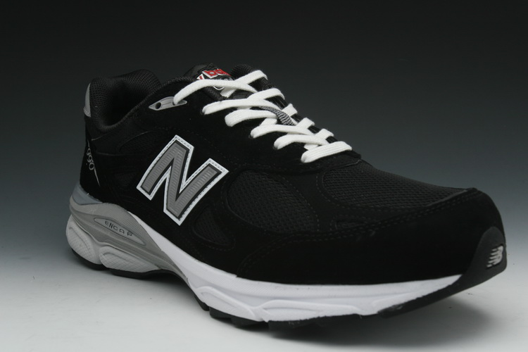 "New Balance ""990"" Women's Sneakers in Black (W990BK3) by New Balance"