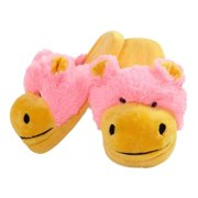 My Pillow Pets Neon Hippo Slippers