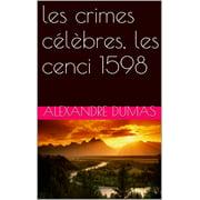 les crimes célèbres, les cenci 1598 - eBook