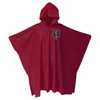 Real Salt Lake Adult Medium Weight Stadium Poncho - Red - No Size
