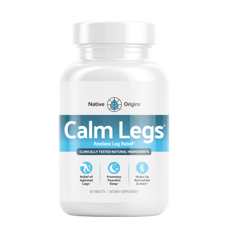 BRL Nutrition Calm Legs Restless Legs Relief Tablets, 60