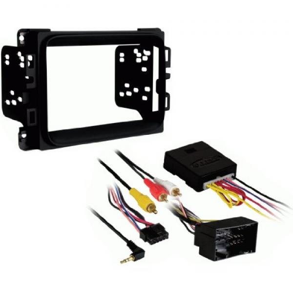 Metra Electronics 95-6518B Double DIN Stereo Installation...