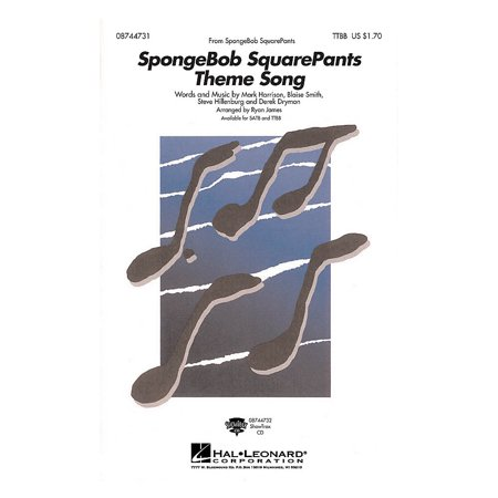 Hal Leonard SpongeBob SquarePants (Theme Song) ShowTrax CD Arranged by Ryan James (Spongebob Themes)