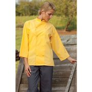 0975-5410 3/4 Epic Sleeves Chef Shirt in Lime - 6XLarge