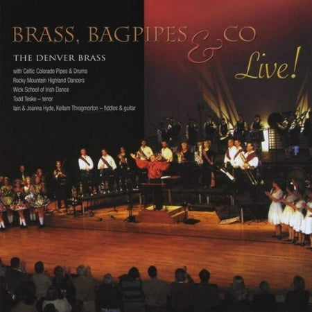 Denver Brass   Brass Bagpipes   Co  Live   Cd